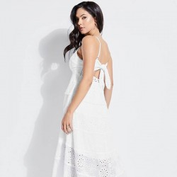 Very beautiful long white dress